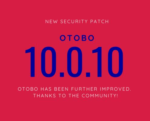 OTOBO 10.0.10 2