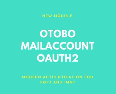 OTOBO Mail Authentifizierung mit OAuth2