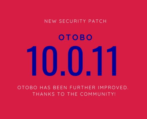 OTOBO 10.0.11 1